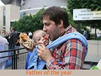 FATHER OF THER YEAR